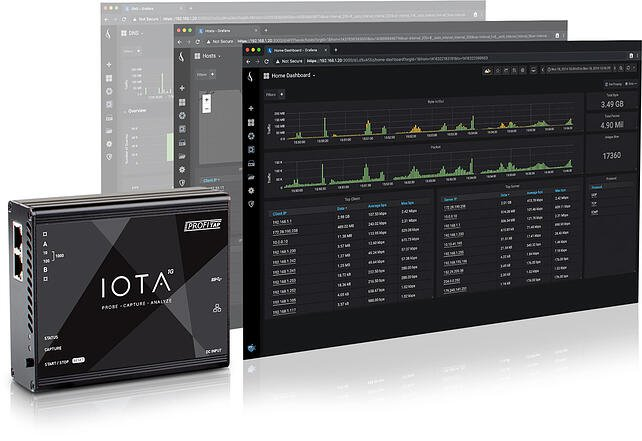 ProfiTap IOTA and ProfiSight Analysis - Making network monitoring easier